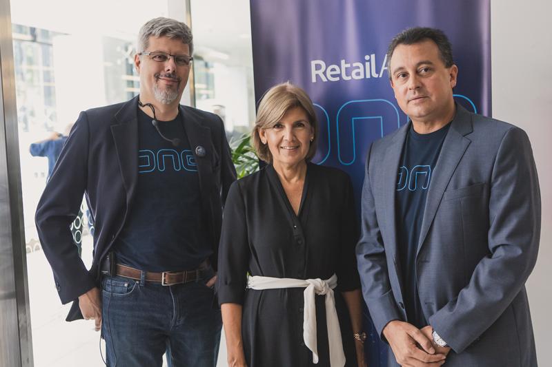 Marcelo Monteiro, VPO Latam, Susana Barranco, Marketing Director and Gonzalo Almada CEO of RetailApp™